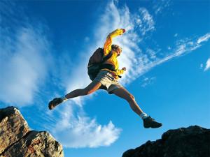 Jump off the plateau!
